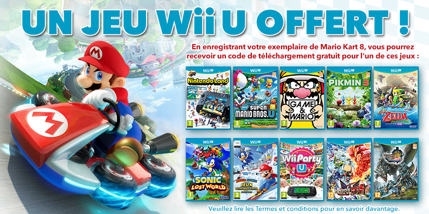 bon plan nintendo offre un jeu wii u pour tout mario kart 8 achet nintendo direct inside. Black Bedroom Furniture Sets. Home Design Ideas
