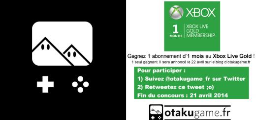 Gagnez un mois d'abonnement au Xbox Live gold !