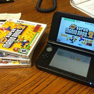 Super Mario Bros 2, Mario Kart 7 et Super Mario 3D Land pour moins de 20€ !