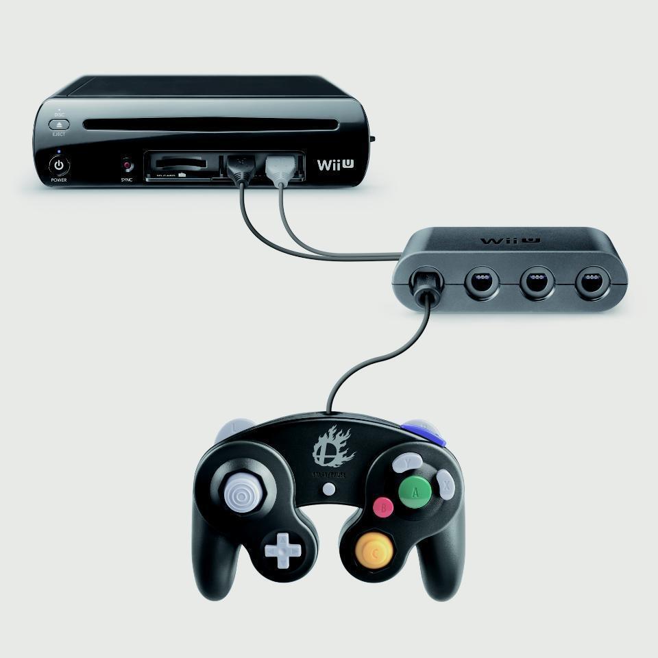 La Manette GameCube sur la Wii U !