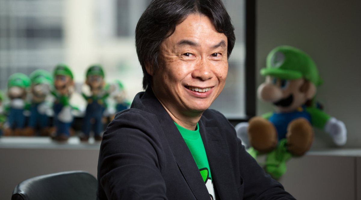 Miyamoto, créateur de Luigi