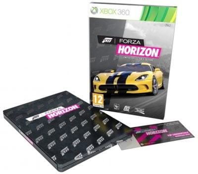Forza Horizon - édition collector (24€38)