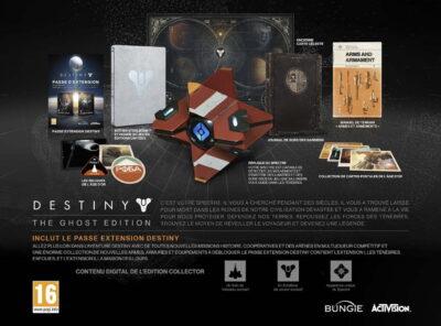 Le collector Ghost de Destiny est très complet !
