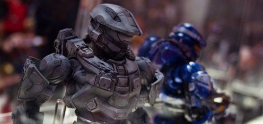 Figurine d'Halo 4.