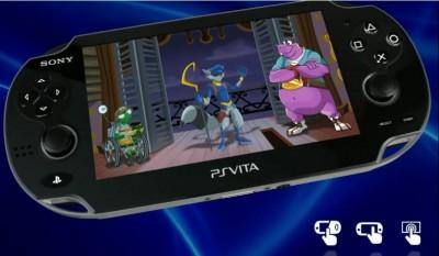 Sly Cooper sur PS Vita