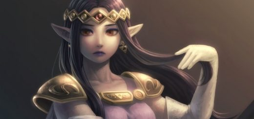 Princesse Zelda issue de ALBW.