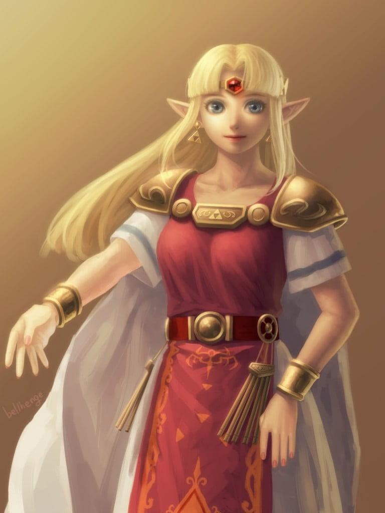 Bellhenge et ses dessins digne de la peinture l 39 huile - La princesse zelda ...