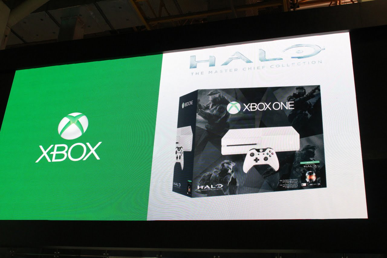 Xbox One Blanche Masterchief Collection