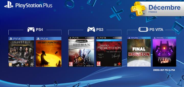 Les jeux PS Plus de d�cembre 2014 !