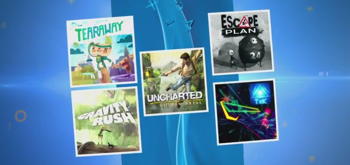 La PS Vita + Tearaway + Uncharted + Gravity Rush + Escape Plan + TxK à 169¤ seulement !