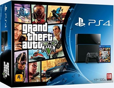Le Pack PS4 + GTA V à 399¤