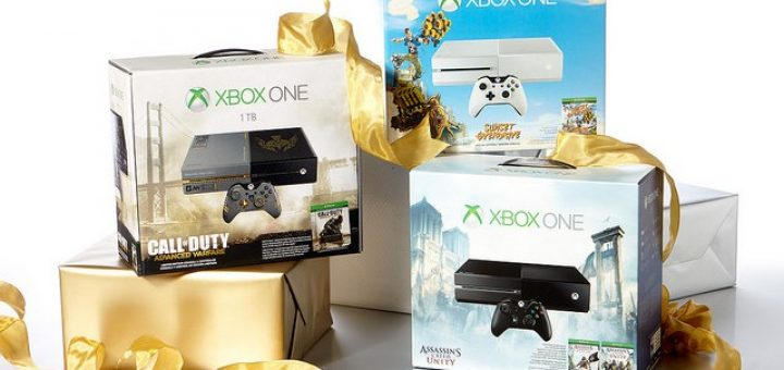 Les packs de Noel Xbox One commencent à arriver !