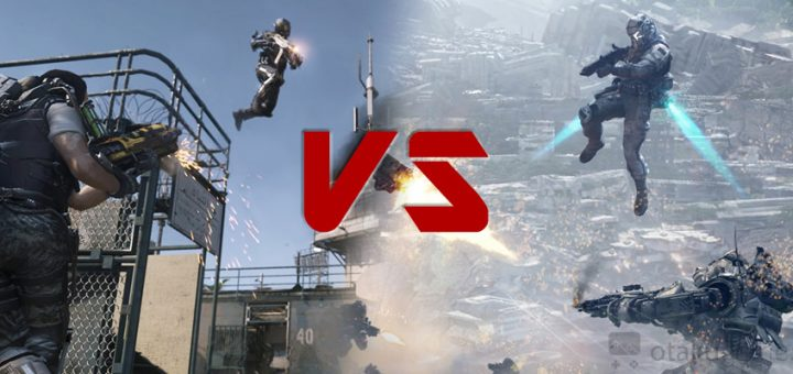 Call Of Duty Advanced Warfare vs Titanfall : Fight !