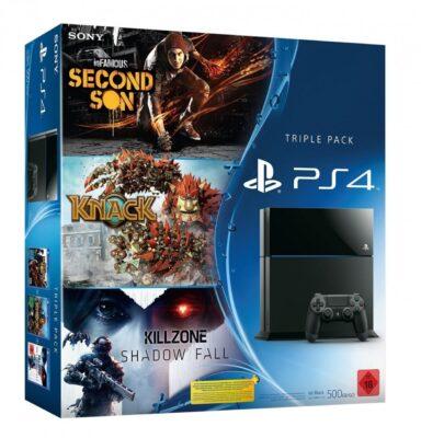 PS4 Triple Pack allemande � 416¤ !