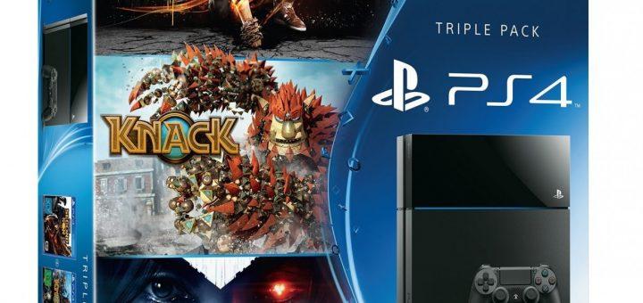 PS4 Triple Pack allemande à 416¤ !