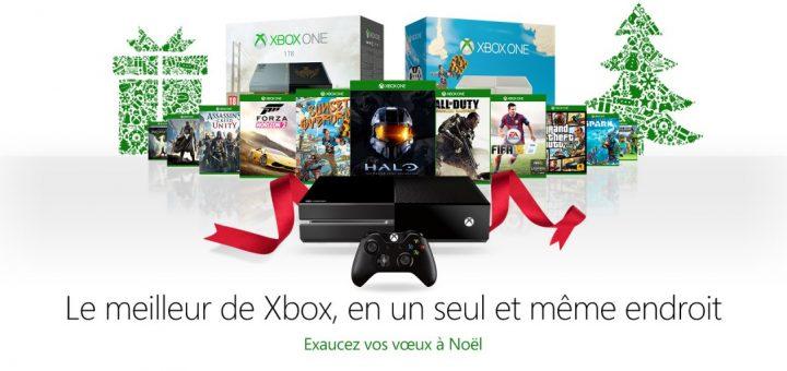 La Xbox One + 1 jeu au choix pour 379¤