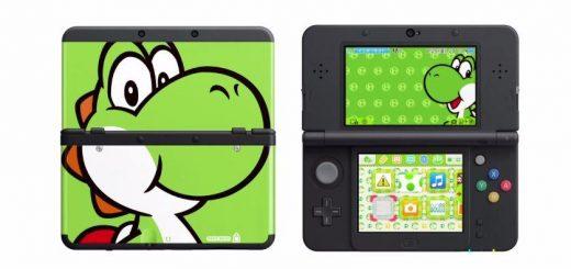 La coque Yoshi. Exclusivement sur new 3DS !