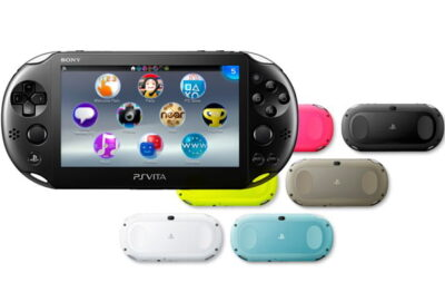 La PS Vita 2000, plus fine et l�g�re, a tent� de redynamiser les ventes.