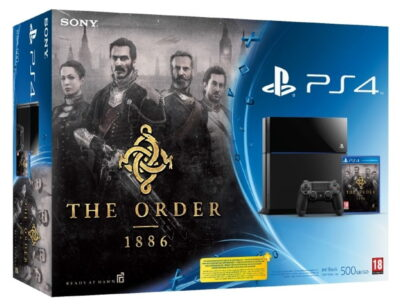 Voir le Pack PS4 The Order