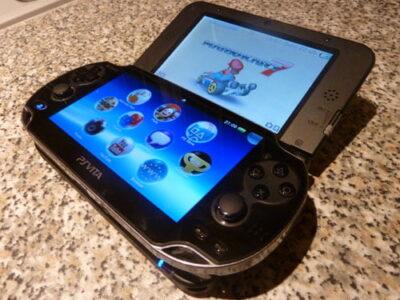 3DS XL et PS Vita