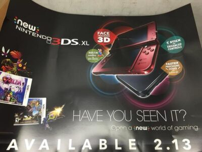 La new 3DS rouge disponible le 13 f�vrier aux USA !