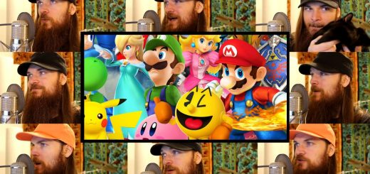 Ce mec reproduit la musique d'intro de Smash Bros for Wii U… En acapella !
