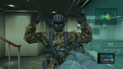Metal Gear Solid en HD collection