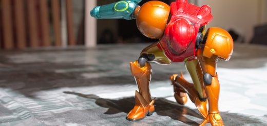 3 point landing. By Figma Samus.