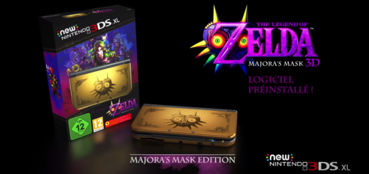 New 3DS XL Edition Collector Majora's Mask chez Amazon !