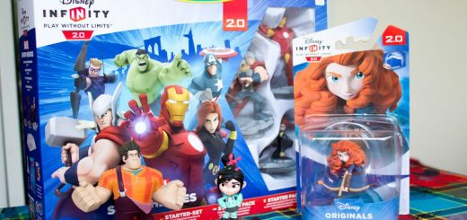 Le starter pack Disney Infinity 2.0 et la figurine Miranda