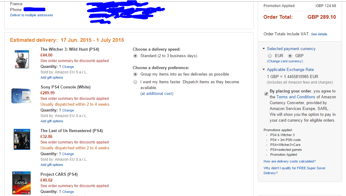 Coupons amazon france