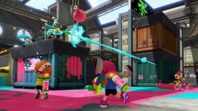Il y a même des snipers dans Splatoon !