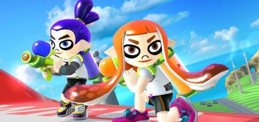 Les Amiibo Splatoon débarquent dans Smash Bros !