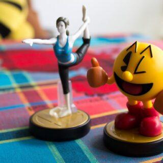 """Pac Man & l'entraineuse Wii Fit... Tout deux """"teintés dans la masse"""" :p !"""