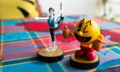 """Pac Man & l'entraineuse Wii Fit... Tous deux """"teintés dans la masse"""" :p !"""