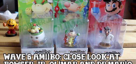 Gamingboulevard vous présente les Amiibo Bowser Jr, Olimar & Dr. Mario !