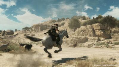 Encore et toujours le cheval. C'est l'effet Ocarina of Time ça...