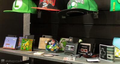 Les accessoires Nintendo sont nombreux chez Bioworld !