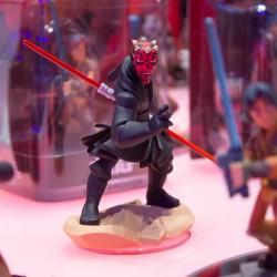 La t�rrifiante figurine de Dark Maul est super bien rendue !