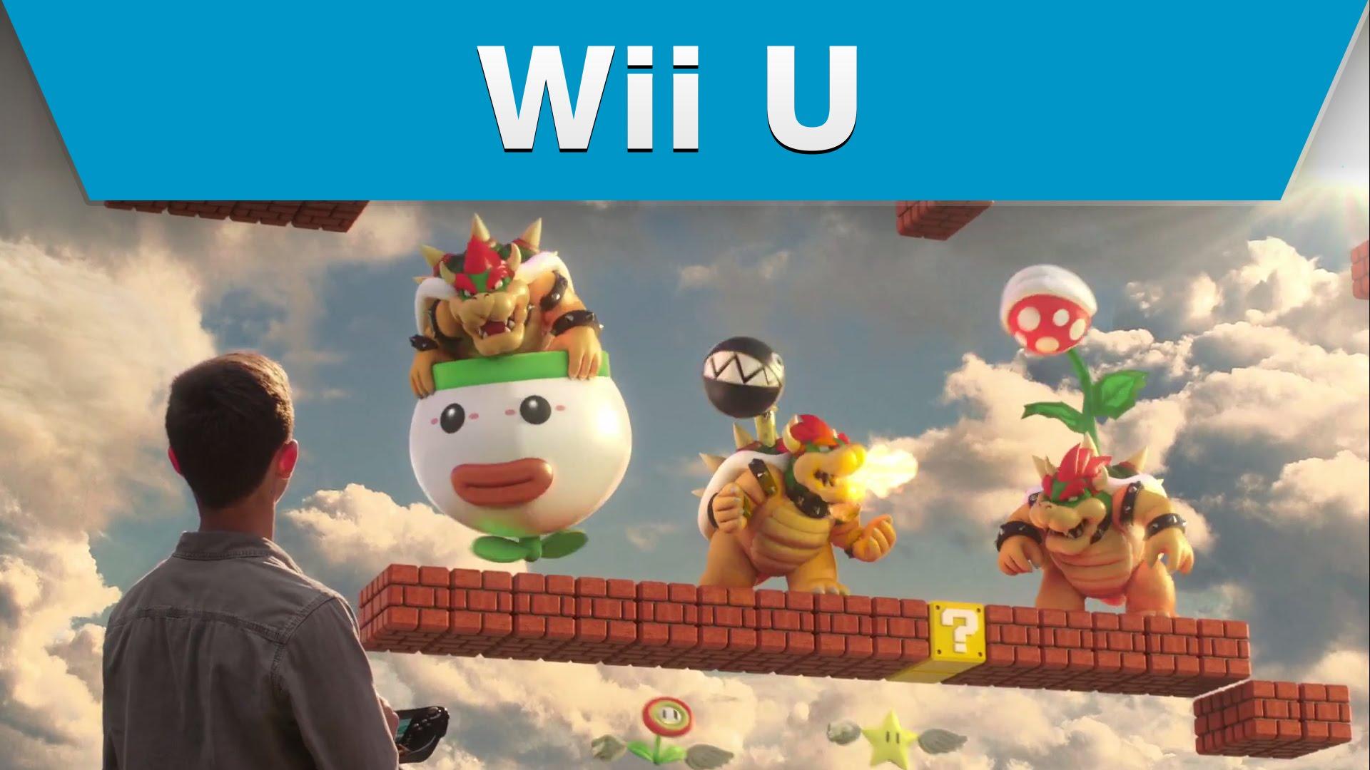 Wii U Game Trailer : Découvrez la ère pub de super mario maker aux usa