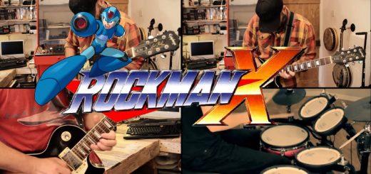Musique : Un petit cover de Megaman X par Banjo Ollie Guy pour bien commencer le week end !