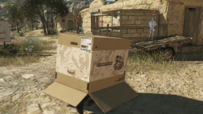Et quand je ne trouve plus mon cheval, je joue à cache cache avec un carton :p !