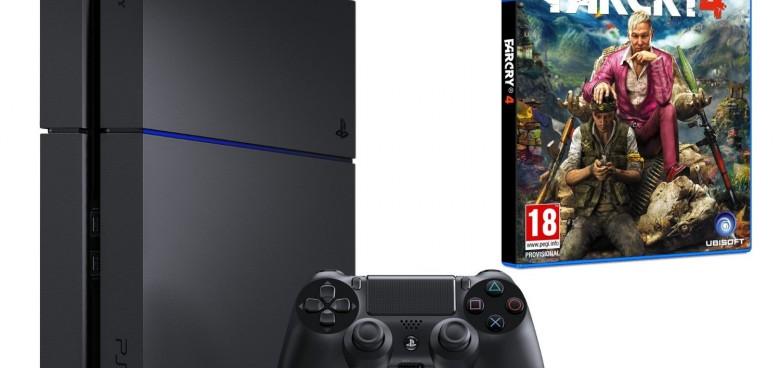 C'est l'heure du rattrapage avec cette promotion PS4 + Far Cry 4 !