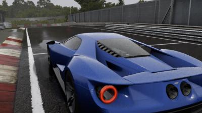 Ce rendu de la pluie est juste divin. Forza 6 est le premier jeu a avoir un rendu si réaliste !