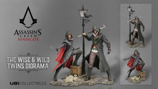 Assassin's Creed Syndicate s'offre deux figurines emboitables !