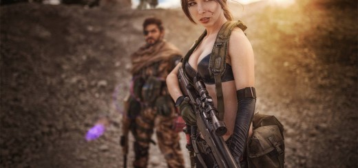 Cosplay de Quiet & Big Boss (MGS V)