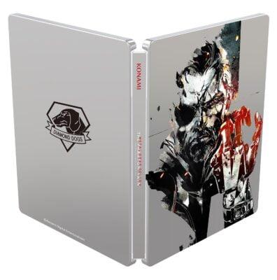 Steelbook Metal Gear Solid V exclusif Amazon