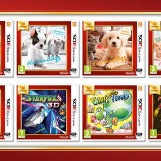 Les 8 premiers jeux Nintendo Selects disponibles !