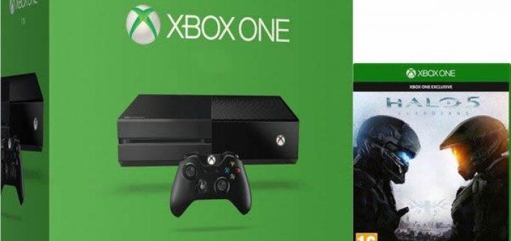 Halo 5 + La Xbox One 500go à 349¤ !