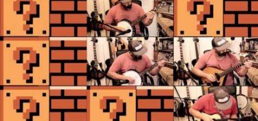 Musique : Un petit cover au Banjo de Mario Bros, ça vous dit ?